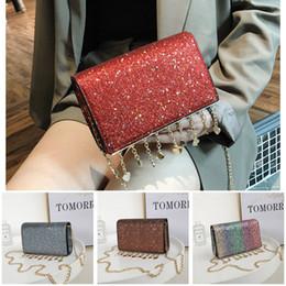 $enCountryForm.capitalKeyWord Canada - 2018 Fashion Designer Handbags Shining Paillette PU Cover One Shoulder Bag Single Strap Handbag With Free Shipping
