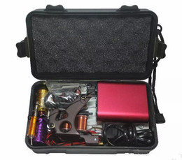 cheap permanent makeup NZ - Tattoo Kit Professional with Best Quality Permanent Makeup Machine For Tattoo Equipment Cheap Red Tattoo Machines