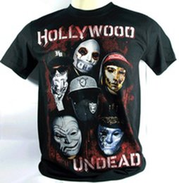 band t shirts printing UK - Hollywood Undead Band 3D Printed Women men's Casual Short Sleeves T-shirts