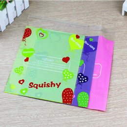 China 20*24cm Squishy Retail Packages bag For Slow Rising Squeeze Jumbo Toys Phone Charms Bag not including Squishy just Packing Bag KKA4861 cheap just phones suppliers