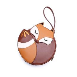 Chinese  2018 Korean Fashion Fox Designer Purses And Handbags For Women PU Leather Shoulder Bag manufacturers
