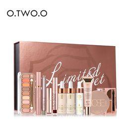 Discount mascara set boxes - O.TWO.O 11PCS BOX Makeup Set Makeup Oil + Liquid Foundation+Primer+Eye Shadow+Lipstick+Lip Gloss+Mascara+Eyeliner+Brow G