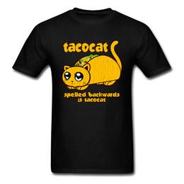 3237d4f45 top cat tshirt 2019 - Oversized Tshirt Men Tops T Shirt Funny Taco Cat  Vintage T