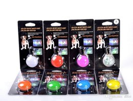 Wholesale Pet LED Light Pendant Pet Dog Cats Puppy Night Safety Light Pendant Dog Cat Collar LED Pendant Pet Supplies