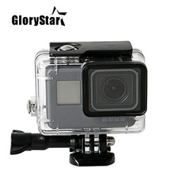 $enCountryForm.capitalKeyWord Australia - Tempered Glass Waterproof Diving 150ft Housing Protector Case Cover For Gopro Hero 6 5 Action Camera Go Pro Accessories