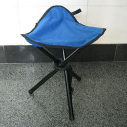$enCountryForm.capitalKeyWord Australia - Portable Folding Fishing Stool - Camping Hiking Foldable Stool Tripod Chair Seat For Gardening Fishing Picnic BBQ Beach