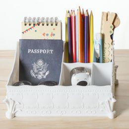 $enCountryForm.capitalKeyWord Canada - Home Office Storage Box Simple Multifunctional ABS Desk Organizers Washable Plastic Makeup Debris Storage Boxes