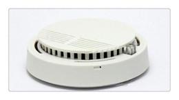 Venta al por mayor de Detector de humo al por mayor Versión blanca Sistema de seguridad para el hogar Detector de humo independiente fotoeléctrico Detector de humo con