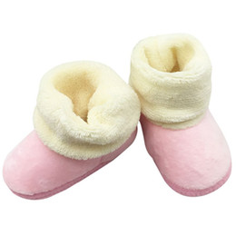 $enCountryForm.capitalKeyWord UK - Hot Sale Baby Winter Warm Snow Boots Toddler Girl's Cotton Shoes Infant Boots Comfortable