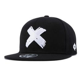 $enCountryForm.capitalKeyWord Canada - Fashion Men Cool Embroidery Big Cross Flat Brim Hip Hop Hat Solid Snapback Casual Rock Street Jazz Dancing Outdoor Sports Baseball Hat