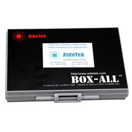 China AideTek SMD 0201 72 values 100pcs value resistor kit 1% 7200 filled BOX-ALL-72 enclosure plastic part box lables R02E12100 cheap resistor smd kit suppliers