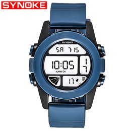 stylish boys glasses 2019 - SYNOKE New Student Couple Relogio Couple Watch Stylish Spire Glass Belt Quartz Watch Men's Watches Women's Wat