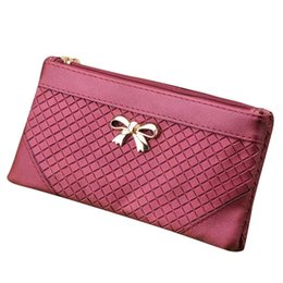Wholesale 2016 New arrival Fashion Messenger women s leather Handbag women Bow Weave Pattern bags lady clutch bag bolsas feminina B