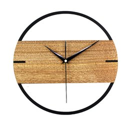 $enCountryForm.capitalKeyWord Canada - KAYIYO 12 inch Wooden Wall Clock Simple Modern Design Wall Clocksfor Bedroom Wood Watch Home Decor Silent