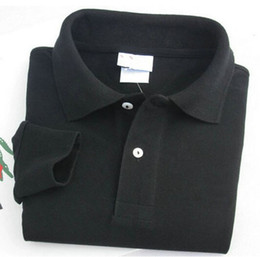 $enCountryForm.capitalKeyWord Canada - New Men Women Long Sleeve Shirts Turndown Collar Shirt Classic Brand Cotton Shirts White Black Navy Grey Pink Orange