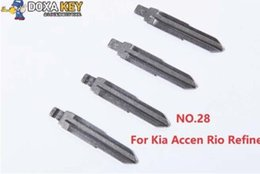$enCountryForm.capitalKeyWord Australia - (5pcs) NO.28 KEYDIY Universal Flip KD Remote Key Blade for Kia Accen Rio Refine