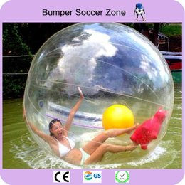 $enCountryForm.capitalKeyWord NZ - Free Shipping 0.8mm PVC Water Zorb Balloon 2m Inflatable Water Walking Ball Human Hamster Ball Dancing Ball