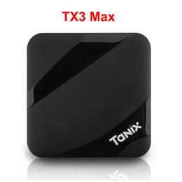 Google Max Canada - Tanix TX3 Max BT4.1 2GB 16GB Android 7.1 TV BOX Amlogic S905W Surppot 2.4GHz WiFi Google Play Store