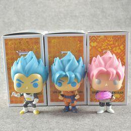 doll vegeta 2019 - 2018 Dragon Ball Toy Son Goku Action Figure Anime Super Vegeta POP Model Doll Pvc Collection Toys For Children Christmas