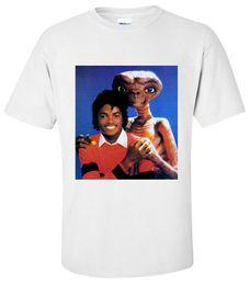 Michael jackson printed t shirt online shopping - SHIRT MICHAEL JACKSON ET T Shirt SMALL MEDIUM LARGE XL