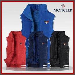 Großhandel XL-4XL neue Polo dreifarbige mongolische Baumwolle Weste 440 # Weste Herren Weste Herren Baumwoll-Polo-Shirt heiße Herrenbekleidung