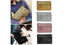 spangles sequins Australia - Shining Sequins Handbag Glitter Spangle Clutch Bag for Party Evening New WML99