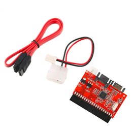 Venta al por mayor de Freeshipping 10Set HDD IDE de alta calidad a SATA Serial ATA Adapter Converter