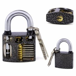 Furniture Nosii Mini Portable Padlock Luggage Suitcase Safety Lock Kids Intelligence Toy With 2 Keys Furniture Tool
