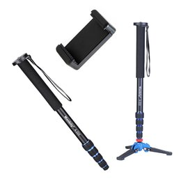 $enCountryForm.capitalKeyWord Australia - wholesale A-222 +M-1 Base Tripod 1650mm Alumninum Camera Unipod Monopod Flip Lock w 3 Legs Base Tripod For Canon Nikon DSLR phone