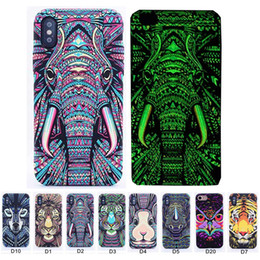 $enCountryForm.capitalKeyWord Australia - Luminous Phone Case For iPhone X Xs Max 7 8 Plus Forest King Cases Glow In The Dark Animals Lion Pattern Back Cover