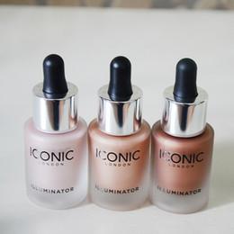 Face Glow Cream Australia - Liquid Highlighter glow three color face make up highlighter
