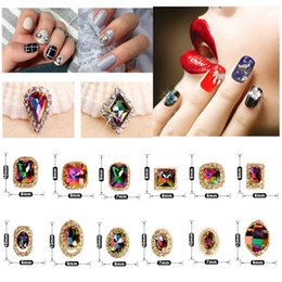 Crafting Gems Australia - 24 Style Crystal AB Nail Art Rhinestones Charms Gems Stones for Nails Decoration Crafts DIY Makeup for Clothes Shoes #276304