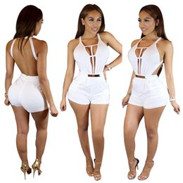 $enCountryForm.capitalKeyWord Canada - 2016 Europe and United States the new jumpsuits sexy night club even jumpsuits shorts sleeveless white bare back jumpsuits