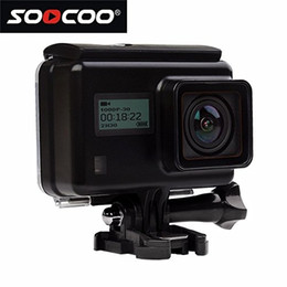 "soocoo camera UK - 16GB TF Card+ SOOCOO@ S200 20MP HD 4K Sports Action Camera 2.45"" LCD Touchscreen Voice Control WIFI Waterproof 170 Degree Wide-Angle"
