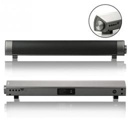Wholesale-3Color New Luxury Wireless Bluetooth Soundbar Box max TV Heimkino spielen Lautsprecher für HSP HFP A2DP AVRCP Karaoke Play Zubehör