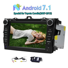 2din gps radio Canada - Autoradio Double 2Din Car DVD Player Head Unit Android 7.1 Car stereo 2GB+32GB Car Radio 7'' Touch Scree for Toyota Corolla GPS