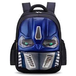 5bfec7e34fc5 LED Flashing Light EVA 3D New Cartoon School Bags For Boys Little Children  Backpacks Kids SchoolBag Cool Backpack School Bag