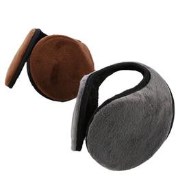 Ear Muffs Wholesale UK - Fashion Earmuffs For Women Men Warmer Comfortable Outdoor Sport Unisex Winter Ear Muffs Casual Protect Earwarmers Hot Sale Gift
