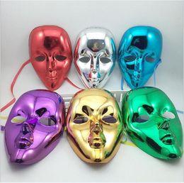 Celebrity Masquerade Ball Australia - Wholesale new Fashion women full face mask Masquerade Ball Halloween Carnival Venice Plating masks Free shipping
