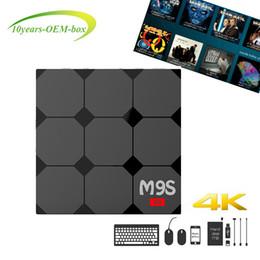 Media Player Australia - RK3229 M9S V3 Smart Android 6.0 TV Boxes Quad Core 1GB 8GB 4K Internet Media Player