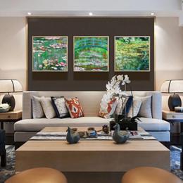 $enCountryForm.capitalKeyWord NZ - European Style Decorative Painting Modern Concise American Triple Oil Living Room Dining Hall Corridor