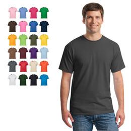 ef249d86b88d8 Массовые лоты 25 сплошных цветов XS ~ XXL хлопок поло женщины мужчины  футболка с коротким рукавом дышащие футболки с круглым вырезом мужские топы