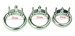 CoCk stainless online shopping - Male Chastity Belt Accessories Cock Cage Metal Cock Ring Adult For CB6000 Stainless Steel Chastity Deivce Adult Sex Toys For Man