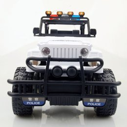 green police car Australia - Super remote control police car charging 1: 12 off-road children's toy remote control car
