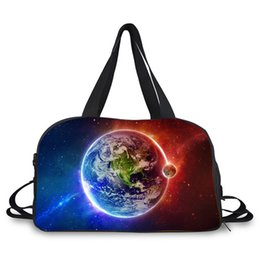 48508a3dfca4 earth design travel bag large weekend gym bag carrying sport with shoes  compartment duffle dance bags for outdoor activity