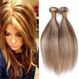 Shop Brown Straight Hair Blonde Highlights Uk Brown Straight Hair