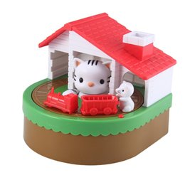coin save Australia - Cute CAT MOUSE BANK Coin Save Money Box Toy Banks Collecting Saving Money Bank Creative Gift Box Piggy Bank Kid Children Toy