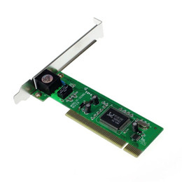 lan computer network Australia - Factory price New 10 100 Mbps NIC RJ45 RTL8139D LAN Network PCI Card Adapter for Computer PC Mfeb14