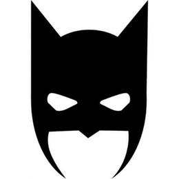 $enCountryForm.capitalKeyWord UK - Car styling for Batman Face Black Vinyl Decal Sticker for Window Wall