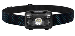 $enCountryForm.capitalKeyWord UK - Headlamp LED Headlight 500 Lumens Cree LED Head lamp with Red light and Temperature Induction Switch,Rechargeable With USB Cable HL06